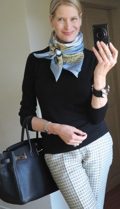 Like the idea of scarves. Like this a lot but executing it is another story…