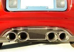 1997-2004 Corvette Exhaust Enhancer Stainless//Z06 Logo