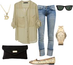 """""""In Between Seasons"""" by dyanna85 on Polyvore"""