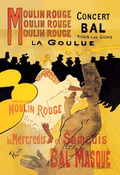 Great sight - I downloaded this off of Wikimedia so it was in high res and bought the 42 x 60 size for a Moulin Rouge Party. It made quite a hit. Very easy to use and can be stored and used again...works as wall decal. i attached to luan!