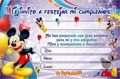 Pin By Fernando Barreiro On Mari Mickey Mouse Invitation Mickey Mouse Mickey