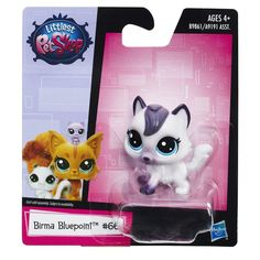 littlest pet shop - birma bluepoint #66