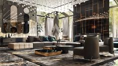 We Are The Premier Destination For Luxury Home Decor & Lighting. We Have An Exclusive Selection Of Unique Home Decor & Lighting. Best Quality At A Fraction Of The Cost. Luxury Home Decor, Unique Home Decor, Luxury Interior, Modern Interior Design, Luxury Homes, Guest Bedroom Decor, D House, Spacious Living Room, Luxury Living