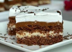 Prajitura Milka cu crema de vanilie - CULINAR Pastry Recipes, Baking Recipes, Cookie Recipes, Fruit Recipes, Dessert Recipes, Cake Cookies, Cupcake Cakes, Romanian Desserts, Kolaci I Torte