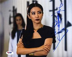 Bingbing Li 'Transformers' Signed 8x10 Photo Certified Authentic PSA/DNA