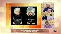 BONECOS DO BABY: Boneca Rita Lee no programa Fofocando do SBT