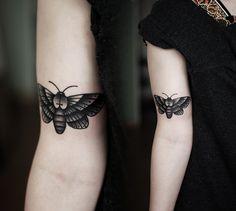 #tattoo #ink #moth
