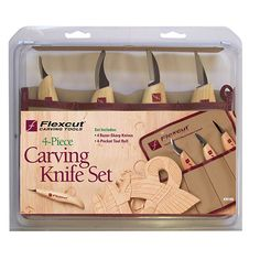 Flexcut Carving Knife Set 4pc