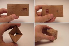 how you package yourself defines your message | 30 Really Creative and Clever Business Cards