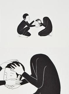 잘 부탁드립니다, in English meaning Please Take Care of This, is a set of illustrations by Daehyun Kim from Seoul, South Korea