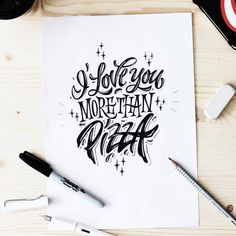 Sketches 2016 (lettering) on Behance
