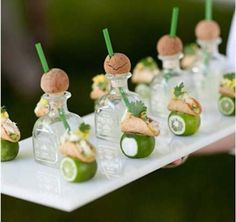 Party Frosting: Drink ideas...