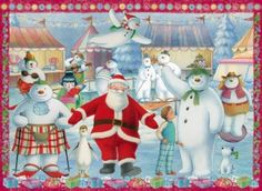 The Snowman and the Snowdog 100 XXL Pieces Jigsaw Puzzle