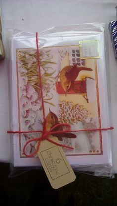 Pack of 6 cards hunkydory little books