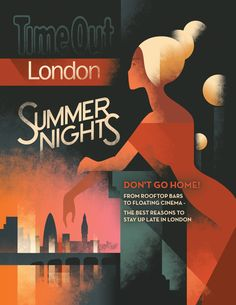 summernights_01 Mads Berg is a Danish illustrator who is influenced by classic poster art and the Art Deco.