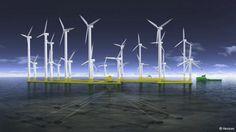Bélgica: construirán una isla para almacenar energía eólica y sustituir la nuclear www.zeroenergyon.com