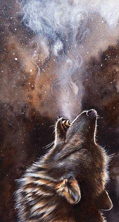 & # Cadence & # Photographic Print by Peter Williams - A Forest Wolf Howls . - & # Cadence & # Photographic Print by Peter Williams – A forest wolf howls in the snowy n - Tier Wallpaper, Wolf Wallpaper, Animal Wallpaper, Trendy Wallpaper, Print Wallpaper, Artwork Lobo, Wolf Artwork, Vintage Disney Art, Art Disney