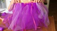How to Make a No-Sew Tutu Project | eHow