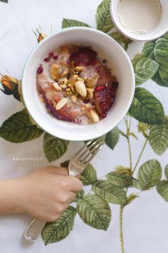 Śniadaniowa jaglanka z wanilią, grzechu warta! (qmam kasze)