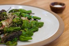 Flash-Fried Shishito Peppers with Sea Salt | Bon Appétempt