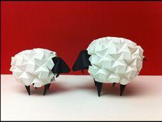 Sheep Origami #Origami #Japan