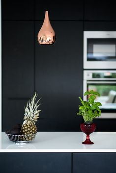 Black kitchen Puustelli modern Finnish design
