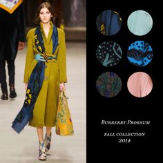 Best Palettes From the Fall Runways: Burberry Prorsum