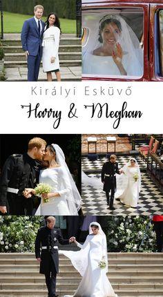 Királyi esküvő: Meghan és Harry - Pink & White Pink White, Blog, Wedding, Fashion, Valentines Day Weddings, Moda, Fashion Styles, Blogging, Weddings