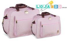 Bolsas para bebês e kit maternidade Infant Rosa bebê. www.lojadobb.com.br