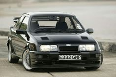 Ford Sierra Cosworth As a kid, I'd cut out any picture of these I could find from magazines and save them in a folder. Ford Rs, Car Ford, Ford Motor Company, Retro Cars, Vintage Cars, Mustang, Ford Sierra, Old School Cars, Ford Classic Cars