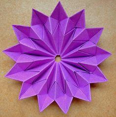 origami star flower | Flickr - Photo Sharing!