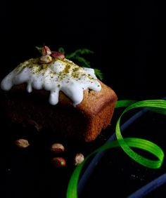 Happy St Patrick's Day everyone! Celebrate this day with a green loaf made with pistachios.
