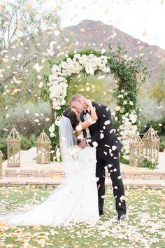 This Mountain Wedding in Arizona Was a Desert Dream   Brides.com