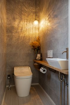 Small Toilet Room, Very Small Bathroom, Natural Bathroom, Tiny Bathrooms, Laundry In Bathroom, Washroom Design, Bathroom Design Luxury, Bathroom Design Small, Wc Design