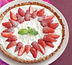 Тарт с клубникой и творожно-йогуртовой начинкой. Пошаговый рецепт с фото на Gastronom.ru