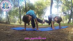 Yoga Family Violet Alignment kids
