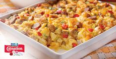 Sunrise Sausage Bake Recipe from Peapod