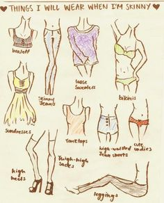 Things I will wear when I am skinny!