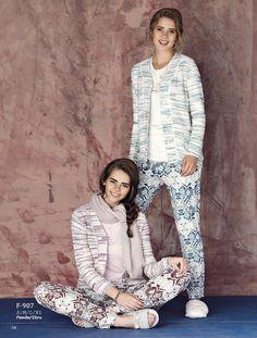 Fantasy Casual F-907 Bayan 3'lü Pijama Takım  #BayanPijama #OnlineBayanPijama #2017BayanPijama #BayanGiyim #EvGiyimi #KışlıkBayanPijama #YeniSezon #Sonbahar #markhacom