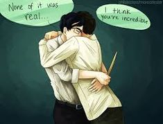 Image result for dan and phil harry potter au