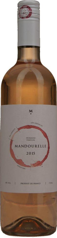 Domaine de Mandourelle rose 1* | Dewit Wijnen