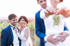 wedding shooting in vineyards - Lower Austria - Karin Molzer