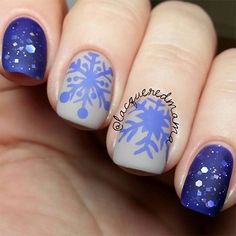 ... Nail Shapes And Designs 2016 Winter Trends ... Simple Nail Art Designs, Winter Nail Designs, Christmas Nail Designs, Christmas Nails, Christmas Ideas, Winter Nail Art, Holiday Nails, Winter Nails, Nails Art 2016
