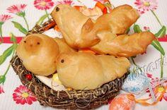 Жаворонки (постные булочки)