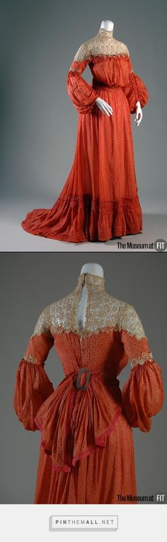 Afternoon dress (c. 1903, USA) - FIT Museum