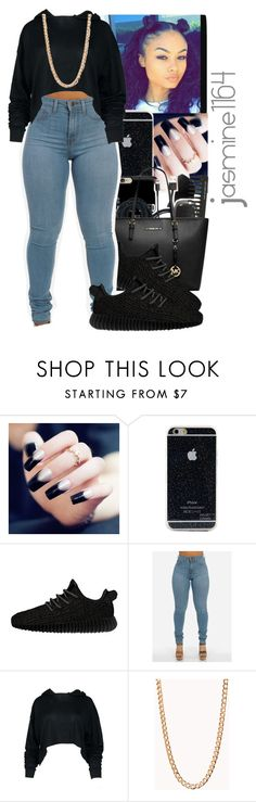 """""""Tre'K~Nothing Wrong Ft.Kodie Shane"""" by jasmine1164 ❤ liked on Polyvore featuring adidas Originals and Forever 21"""