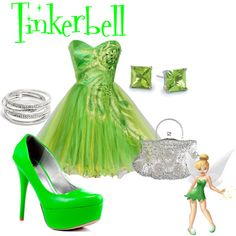 """""""Tinkerbell"""" by grace-buerklin on Polyvore"""
