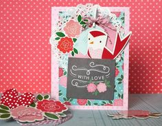 crafts with paper hearts - Google Search