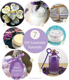 7+DIY+Lavender+Tutorials