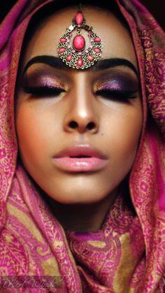 267eb2093 gorgeous makeup for a Pakistani wedding or an indian wedding Gorgeous  Makeup, Love Makeup,